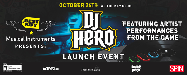 Best Buy DJ Hero Event October 2009